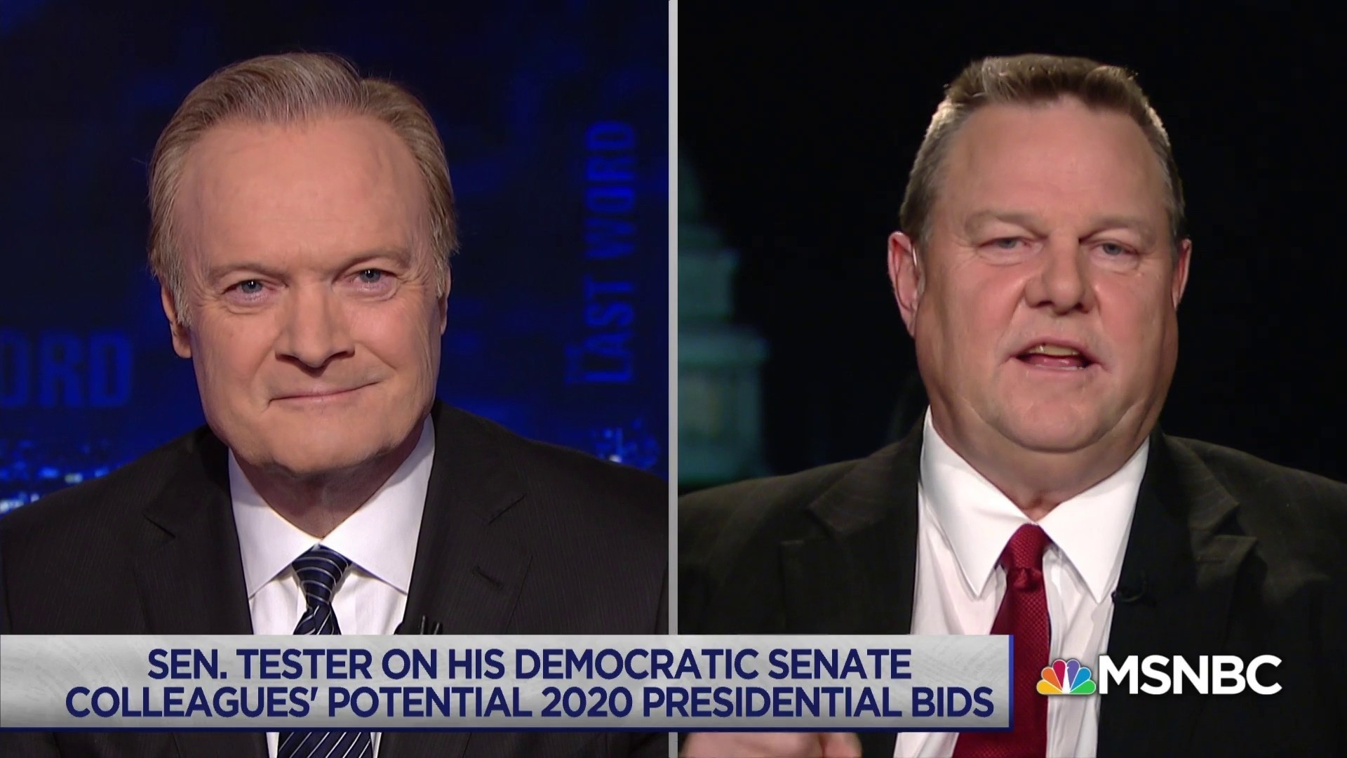 Sen. Jon Tester (D-MT) outraged by the Senate's inaction on shutdown